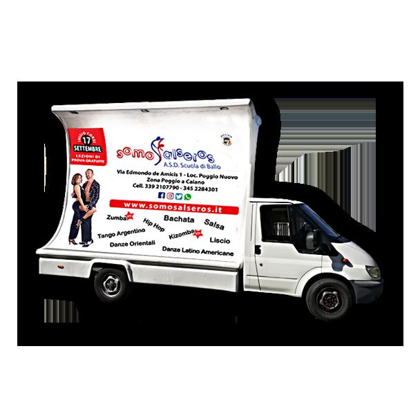 Camion Vela - Veicolo pubblicitario